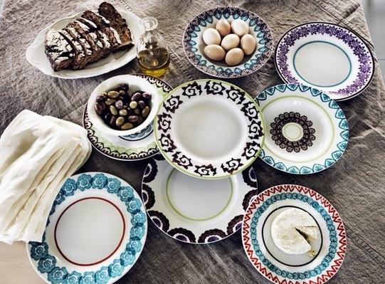Mix \u0026 match plate selection by emma\u0027s design blog & Matching is overrated: Mix \u0026 Match dinnerware | Chiche \u0026 Chouette