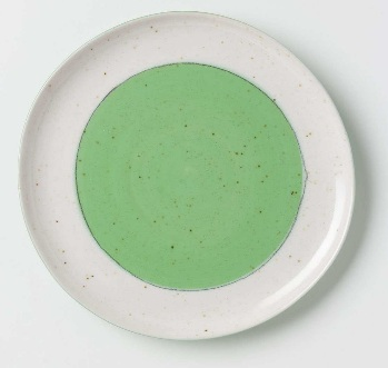 Beautiful pistachio plate from Anthropologie