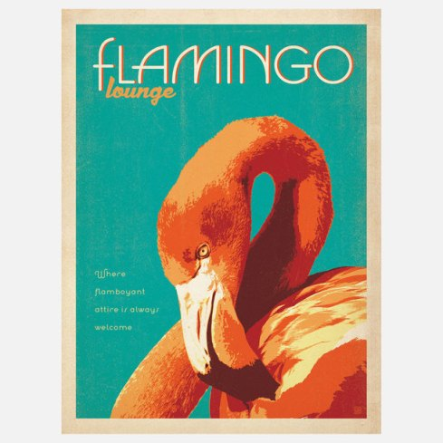 flamingo poster